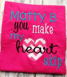 Matty B Fan shirt... I'm getting it!