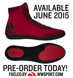 New 2015 Color of Adidas adiZero Varner Wrestling Shoes!