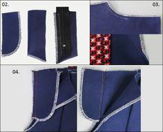 Principais operações de confecção de short de alfaiataria (parte II)