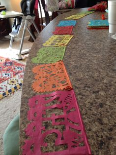 DIY Papel Picado - @Kellie Gillette-Wood .... I am going to need your artsy-ness soon