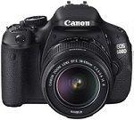 Canon EOS 600D Dijital SLR Fotoğraf Makinası