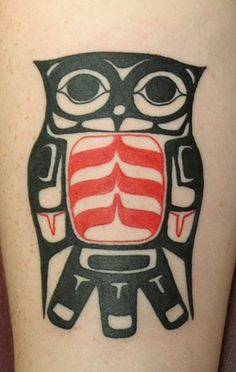 Haida Indian Art - owl