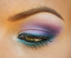 Turquoise and Purple for Suicide Prevention by starryskies214 on Makeup Geek