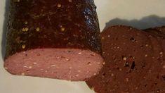Venison Salami Recipe   Allrecipes Homemade Venison Sausage Recipe, Venison Salami Recipe, Salami Recipes, Ground Venison, Tray Bakes, Stuffed Peppers, Snacks, Baking, Bakken