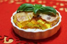 Dvojfarebný zemiakový gratín - Powered by @ultimaterecipe