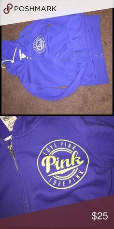 ❗️PINK Victoria Secret❗️ Hoodie Nice Victoria Secret PINK hoodie PINK Victoria's Secret Tops Sweatshirts & Hoodies