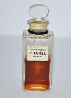 Vintage Cuir De Russie Perfume By Chanel