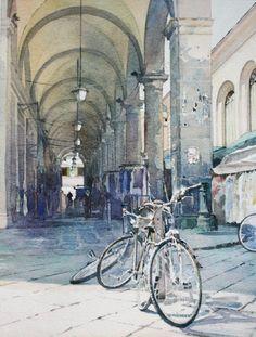 Florence bikes, David Walker, UK