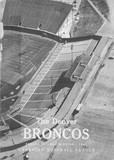 Media Guide 1961 // 1961 (3-11) // Head Coach: Frank Filchock // AFL West Finish: 3rd // Home Stadium: Bears Stadium