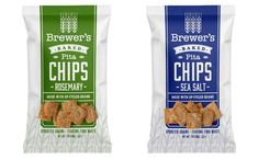 Brewer's Crackers launches pita chips made with upcycled grains - FoodBev Media Baked Pita Chips, Snack Recipes, Snacks, Food Packaging Design, Food Waste, Junk Food, Crackers, Upcycle, Grains
