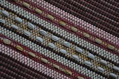 Loom Craft, Weaving Art, Recycled Fabric, Woven Rug, Carpet, Textiles, Tapestry, Traditional, Rag Rugs