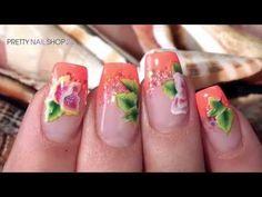 "Nailart Jolifin Illusion Glitter VII ""Shiny Summer"" - YouTube"