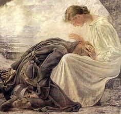 afortunateson2:  Heimkehr (Homecoming)~Hans Adolf Bühler -1940  how beautiful. that's how to love your man.