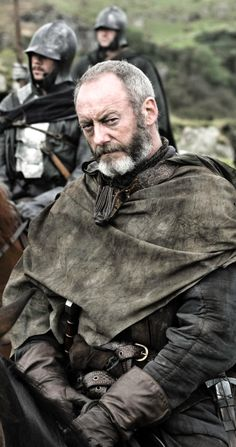 Ser Davos Seaworth - landed knight and a reformed smuggler in the service of Stannis Baratheon.