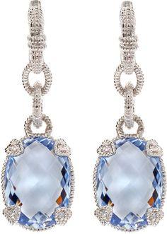 Quartz Drop Earrings Judith Ripka Unique Jewelry Fine Accessories