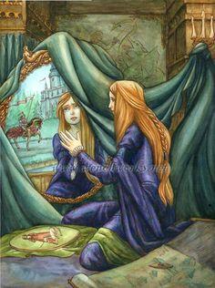 lady of shalott - Google Search