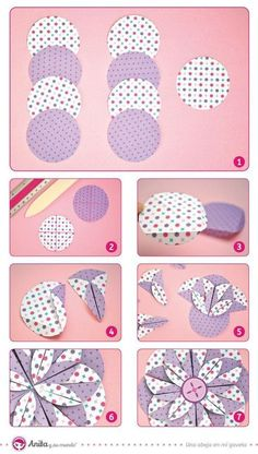 Fabric flower tutorial how to make fabric flowers – Artofit Cloth Flowers, Diy Flowers, Fabric Flowers, Paper Flowers, Fabric Crafts, Sewing Crafts, Sewing Projects, Paper Crafts, Diy Crafts