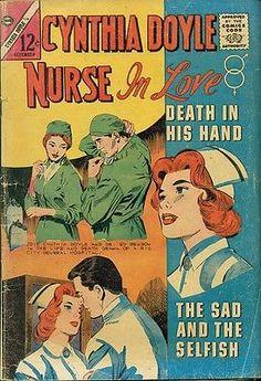 CHARLTON COMICS CYNTHIA DOYLE NURSE IN LOVE VOL-2 NO-73 DECEMBER 1963~~