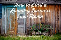 For most, laundry is a drag. This opens up a much-needed and desired niche for those considering entrepreneurship; starting a laundry business from home.