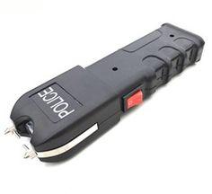 Police 55,000,000 Grab Guard Stun Gun with Flashlight Rechargeable