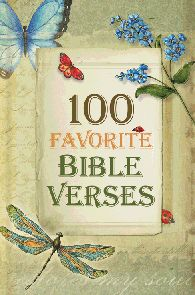 100 Favorite Bible Verses with illustrations by Karla Dornacher