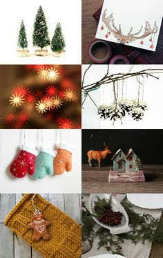 Christmas Magic by Imogen Wilson on Etsy-- #xmas https://www.etsy.com/shop/findimogenwilson