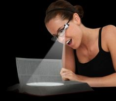 Gift for mom /Powerful Reading Light Attaches to your Glasses | Craziest Gadgets