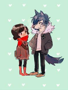 Wolf Children fan art