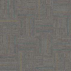 Interface Modular Carpet  Sidetrack, Sterling/Track