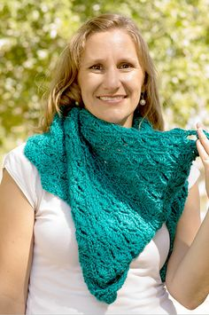 Sparkle Shawl crochet pattern