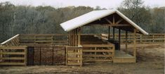 Cross Creek Construction & Design - Picture Gallery - Horse Barns and Stables Barn Stalls, Stables, Horse Stalls, Backyard Chicken Coop Plans, Chickens Backyard, Cattle Barn, Beef Cattle, Rinder Stall, Small Horse Barns