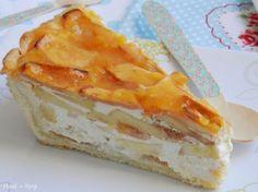 Adoro las tartas de manzana. Hasta ahora casi siempre las había hecho con relleno de crema pastelera o utilizando compota de manzana. ...