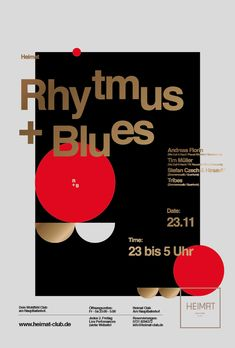 Poster from Heimat Club Case Study by Christoph Ruprecht