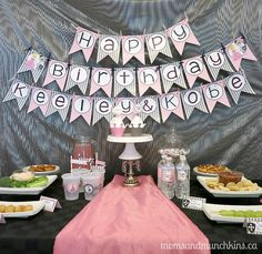 This co-ed party is perfect for twins or kids who have birthdays close to each other. A fun Princess & Knight Birthday Party theme suits both genders.