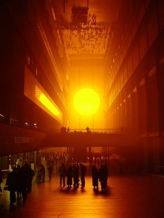 Weather Project - Olafur Eliasson