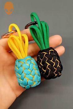 Rope Crafts, Diy Crafts Hacks, Diy Crafts Jewelry, Diy Crafts For Gifts, Bracelet Crafts, Diy Arts And Crafts, Diy Crafts Videos, Resin Crafts, Diy Friendship Bracelets Patterns
