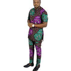 African Wear Styles For Men, Ankara Styles For Men, African Shirts For Men, African Dresses Men, Nigerian Men Fashion, African Men Fashion, Ankara Fashion, Ankara Clothing, African Clothing For Men