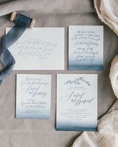 Full look at this invitation for a wedding last month! And don't forget we have a fun giveaway going on until tomorrow! Two posts back!