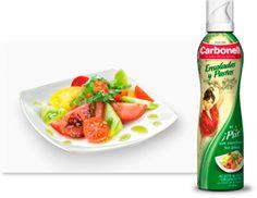 Carbonell Ensaladas y Pastas . El ¡Psst! que transforma tus platos ;) Pasta, Salads, Dishes, Olive Oil, Pasta Recipes, Pasta Dishes
