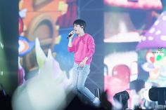 D.O - 151010 2015 EXO-Love Concert in Dome Credit: Undine.