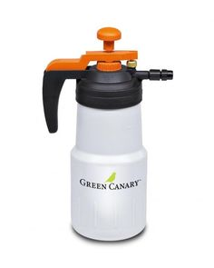 Professional grade, handheld sprayer for small area application of Green Canary. Liter size bottle allows for fast mix-apply-clean, perfect for demonstration and small areas usually less than 5 m2