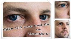 FUN Kontaktlinsen Sweet Blue