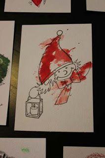 Harakanhattu: Joulukortit postiin