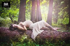 Maternity Photo in the forest