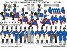 1810-15 Baden Dragoons.