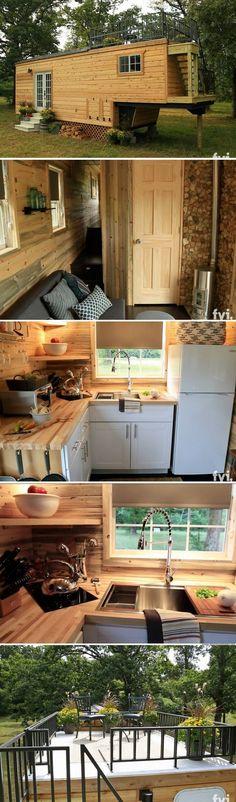 The Honeymoon Suite tiny house (264 sq ft)