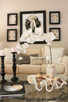 Beach Inspired Living Room.
