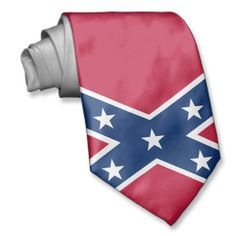Redneck Rebel Confederate Flag Tie