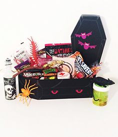 Hauntingly delicious gourmet halloween gift basket http some mummy loves you halloween gift negle Image collections