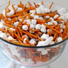 Snowman Snack Mix from Spoonful blog: Perfect for the winter holidays!